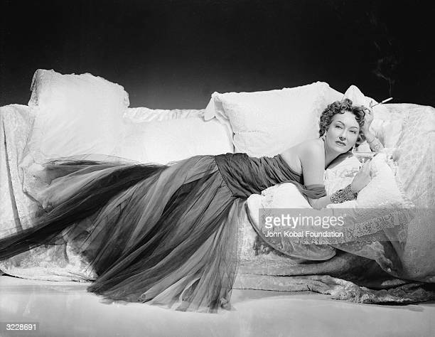 Gloria Swanson plays deluded hasbeen Norma Desmond in 'Sunset Boulevard' directed by Billy Wilder