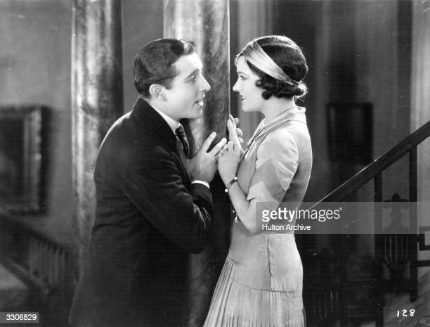 Gloria Swanson with John Boles in a scene from 'The Loves Of Sunya' directed by Albert Parker