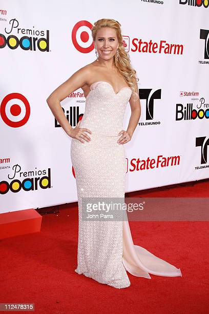 Gloria Trevi arrives for the 2009 Billboard Latin Music Awards at Bank United Center on April 23 2009 in Miami