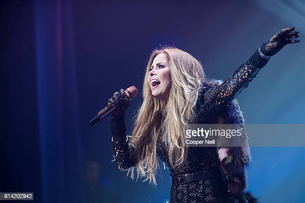 Gloria Trevi performs during the Latin GRAMMY Acoustic Sessions on October 12 2016 in Richardson Texas