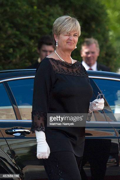 Gloria von Thurn und Taxis attends the Bayreuth Festival Opening 2014 on July 25 2014 in Bayreuth Germany