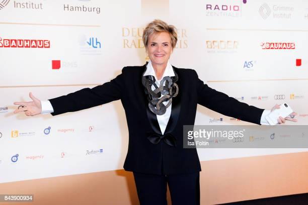 Gloria von Thurn und Taxis attends the 'Deutscher Radiopreis' at Elbphilharmonie on September 7 2017 in Hamburg Germany