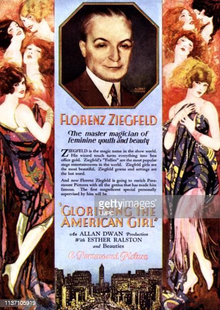 Glorifying The American Girl poster Florenz Ziegfeld 1929