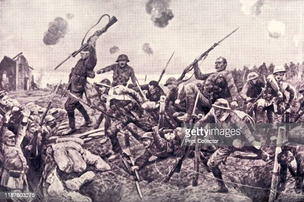 Glorious Charge of the Fusiliers at St Eloi' 1916 The Battle of St Eloi was fought from 27 March to 16 April 1916 in a landscape pitted by mine...
