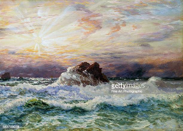 A Glorious Sunset by John Brett