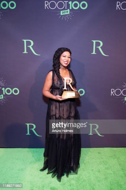 Glory Edim attends 2019 ROOT 100 Gala at The Angel Orensanz Foundation on November 21 2019 in New York City