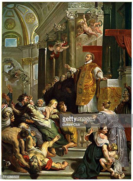 Glory of St Ignatius of Loyola by Ruben Founder of the Jesuit order 23 October 1491 – 31 July 1556