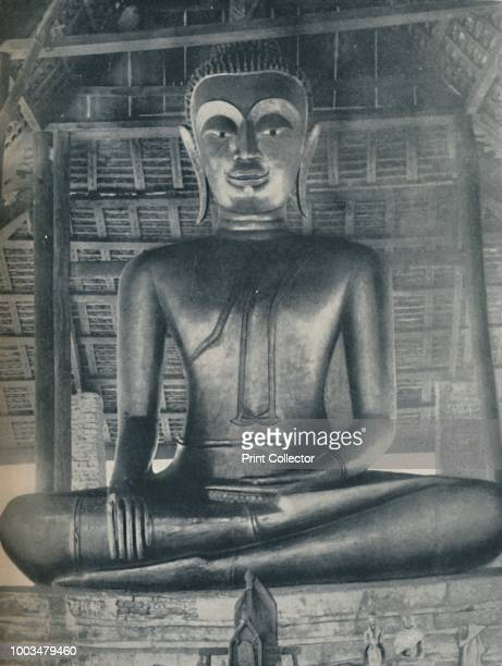 Glory of the Central Shrine in the Wat Suthat, Bangkok', circa 1935. From Our Wonderful World, Volume III, edited by J.A. Hammerton. [The Amalgamated...