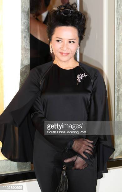 Glossy magazine Women of Our Time that features 25 outstanding women in HK: Deanie Yip attends opening celebrates of Van Cleef & Arpels, Prince's...