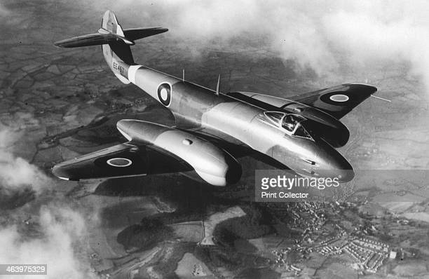 Gloster Meteor. British jet fighter which first flew in 1943.