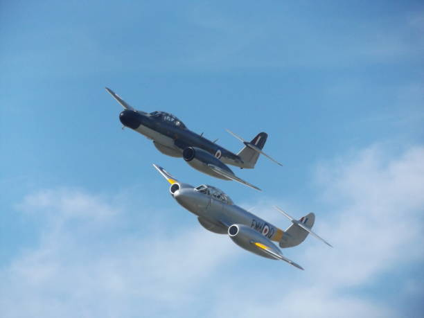 Gloster Meteor Display - Baginton Air Pageant