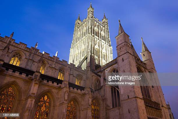 Gloucester Cathedral in Gloucestershire, England