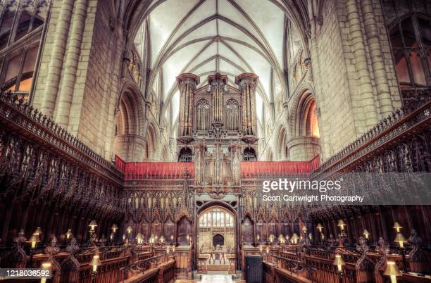 gloucester cathedral - gloucestershire stock pictures, royalty-free photos & images