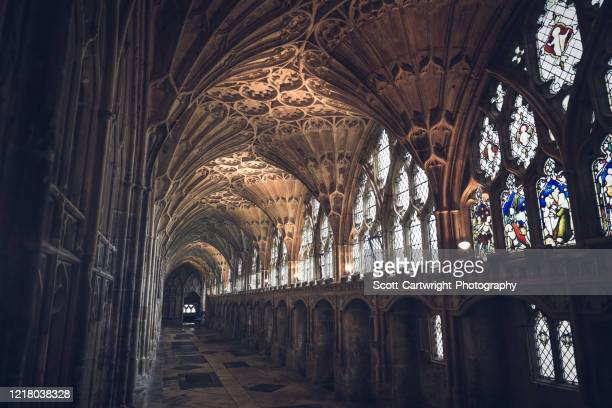 gloucester cathedral - グロスターシャー ストックフォトと画像