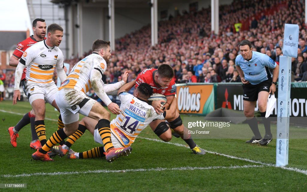 Gloucester Rugby v Wasps - Gallagher Premiership Rugby : News Photo