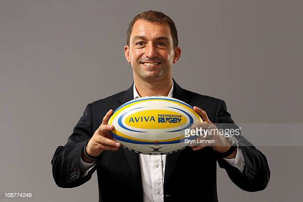 Gloucester Rugby head coach Bryan Redpath poses during the Aviva Premiership Season Launch at Twickenham Stadium on August 26, 2010 in London,...