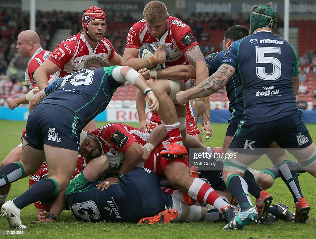 Gloucester Rugby v Connacht Rugby - European Champions Cup Play-Off