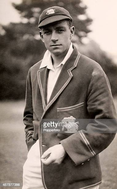 Gloucestershire and England cricketer Wally Hammond circa 1930