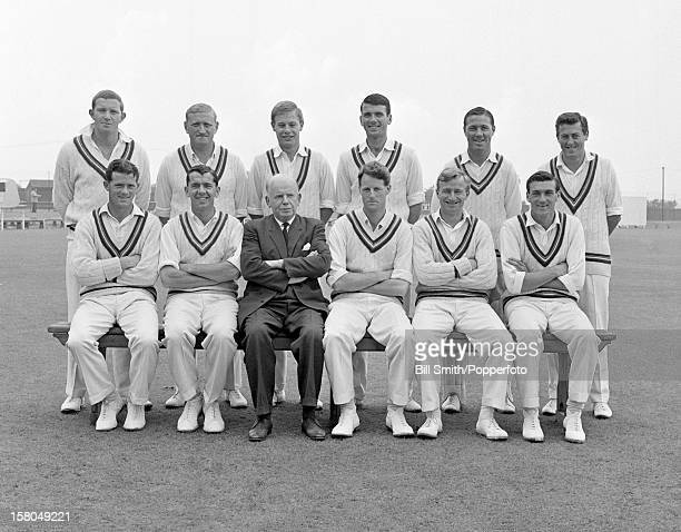 Gloucestershire county cricket team circa 1965 Back row Tony Windows Sid Russell Mike Bissex Tony Brown Barrie Meyer DWJ Brown Front row Ron Nicholls...