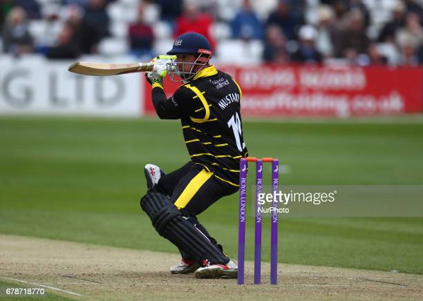 Gloucestershire's Phil Mustard during Royal London OneDay Cup match between Essex Eagles and Gloucestershire CCC at The Cloudfm County Ground...