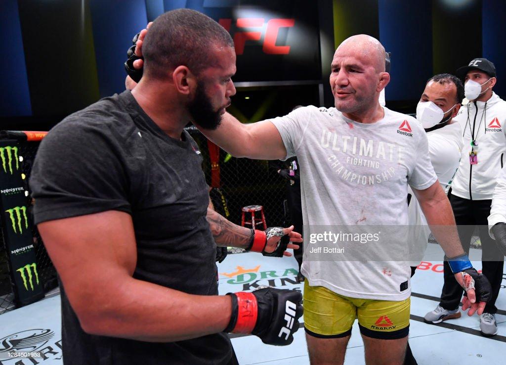 UFC Fight Night: Santos v Teixeira : Nachrichtenfoto