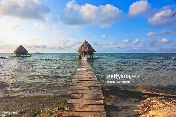 Glovers reef hut