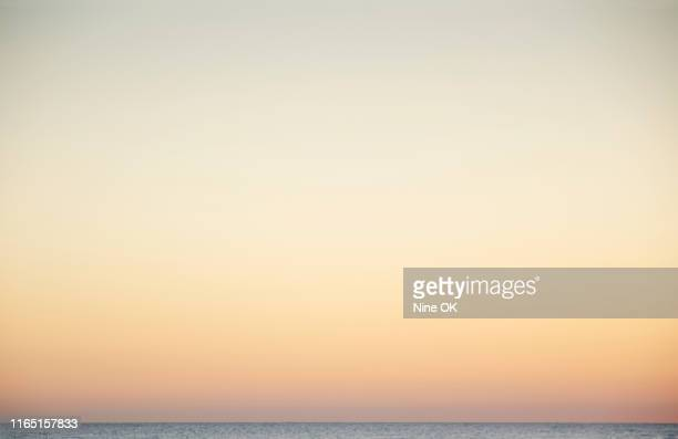 glow of setting sun on horzon, nantucket island - nantucket stock pictures, royalty-free photos & images