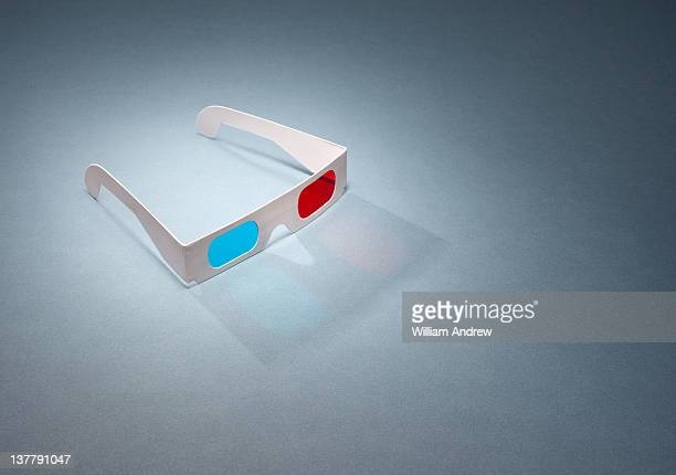 Glowing  3D movie glasses