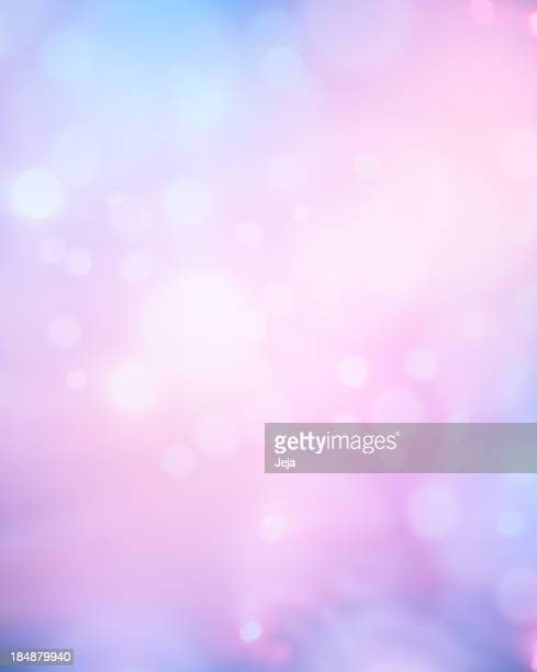 Glowing blue and pink abstract background