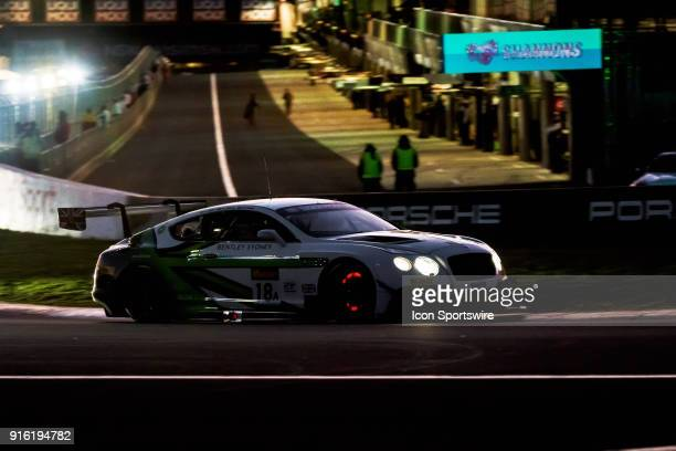 Glowing brakes on No 18 Bentley Team MSport Bentley Continental GT3 driven by Andy Soucek / Maxime Soulet / Vincent Abril at The LiquiMoly Bathurst...