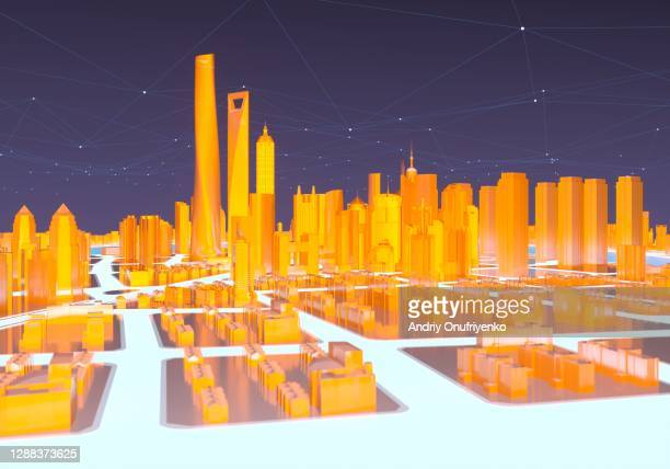glowing city - beijing stock pictures, royalty-free photos & images