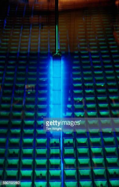 Glowing Fuel Rod