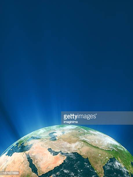 glowing globe series - middle east - east stock pictures, royalty-free photos & images