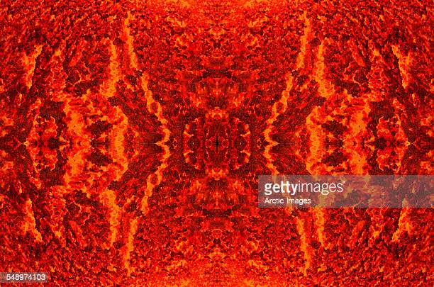glowing lava - lava stock photos and pictures