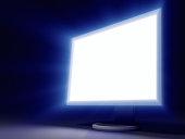 Glowing LCD Panel