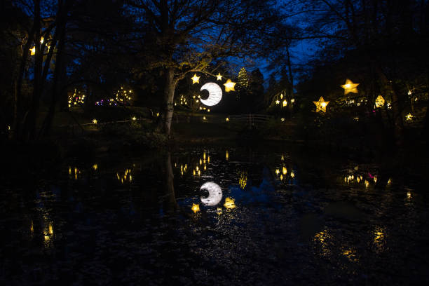 GBR: Wakehurst Place Christmas Lantern Walk Launch