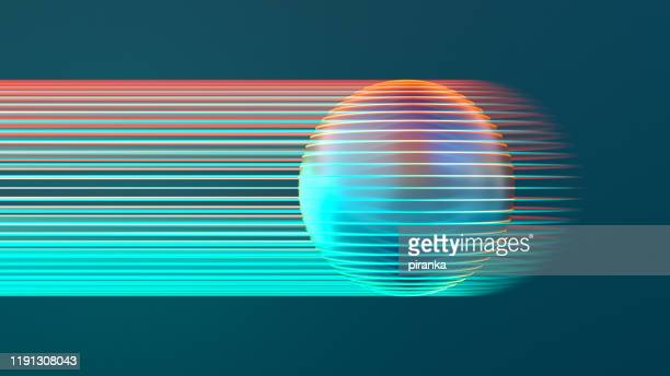 glowing sphere - teal stock pictures, royalty-free photos & images