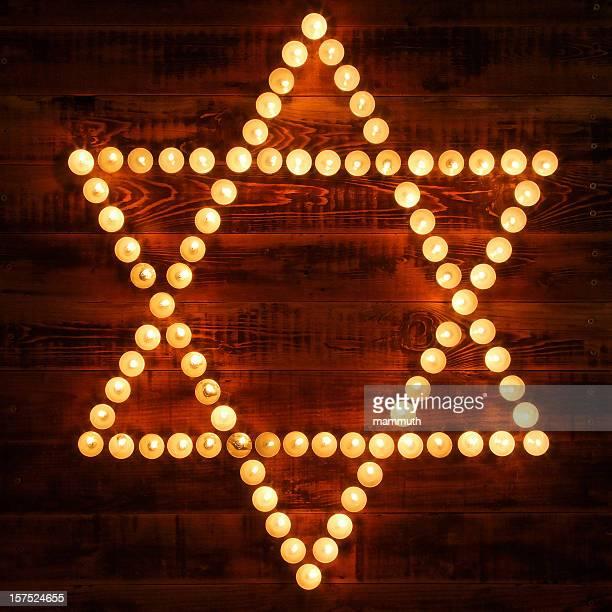 Glowing Star of David