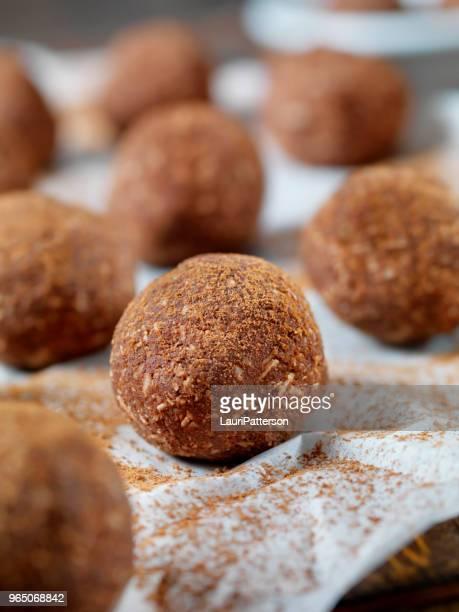 Gluten Free, Cocoa and Coconut Energy Bites