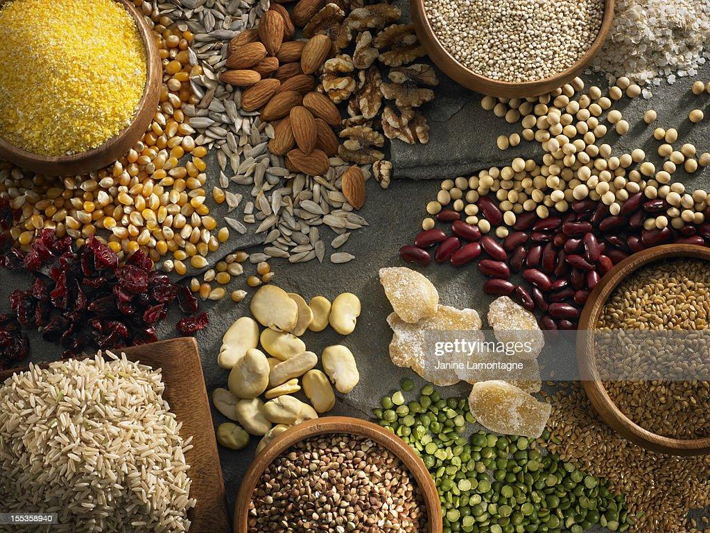 Gluten Free Ingredients : Stock Photo