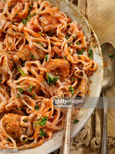 gluten free, low calorie, low carb fettuccine made with the konjac plant - konjac stock pictures, royalty-free photos & images