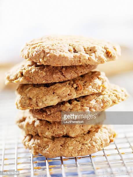 Libre de Gluten Cookies en una rejilla