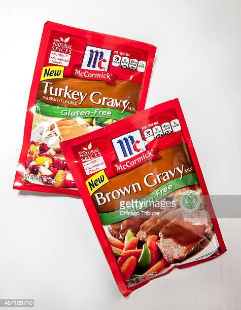 Glutenfree gravy mixes from McCormick
