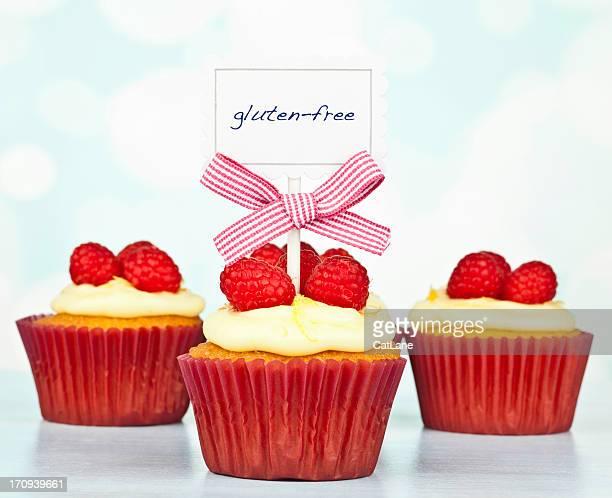 Senza glutine e limone Cupcakes lampone