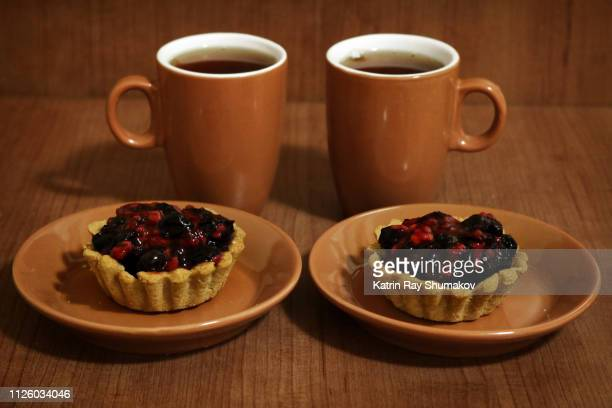 Gluten-Free Raspberry-Blueberry Tartles