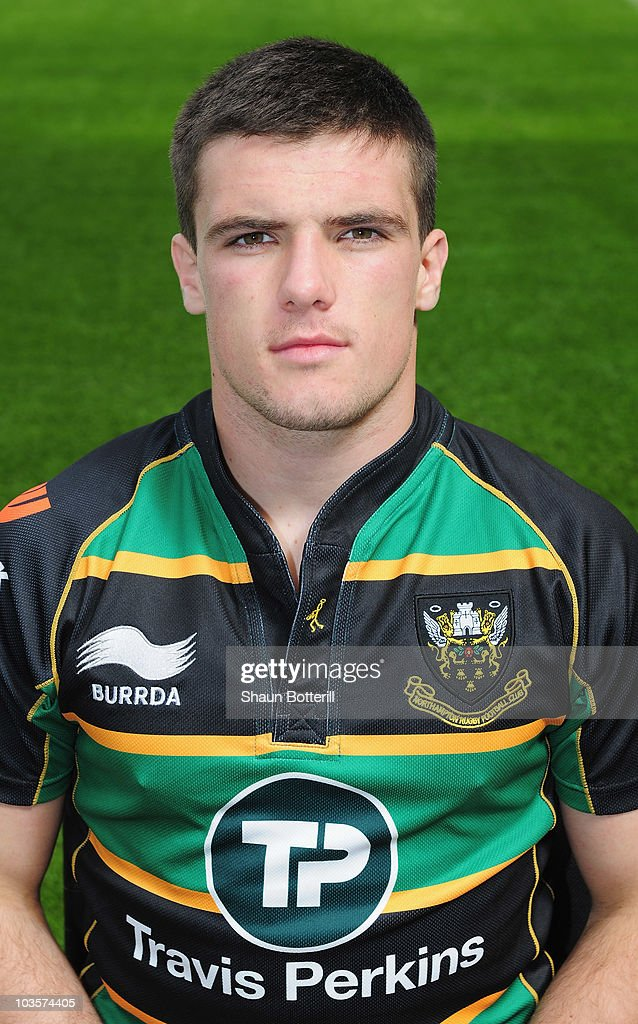 Glyn Hughes of Northampton Saints poses for a portrait at Franklins Gardens on August 24, 2010 in Northampton, England.