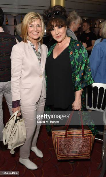 Glynis Barber and Harriet Thorpe attend the Acting For Others Golden Bucket Awards at The Prince of Wales Theatre on May 4 2018 in London England
