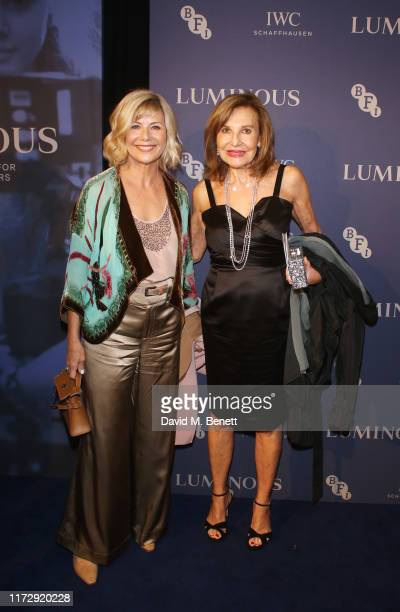 Glynis Barber and Joyce Reuben attend the BFI IWC Luminous Gala at The Roundhouse on October 1 2019 in London England During the event Oscarwinning...