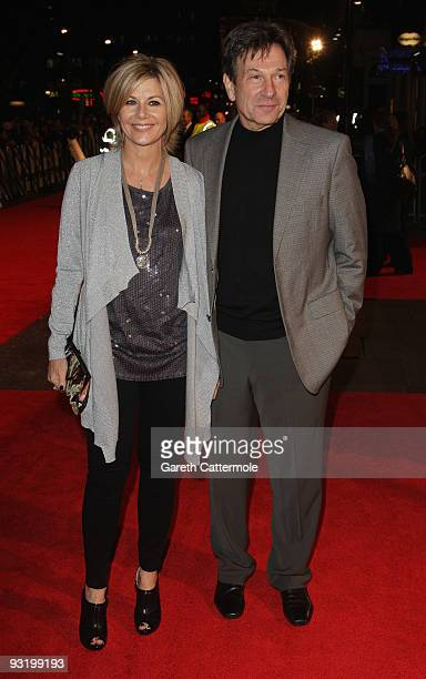Glynis Barber and Michael Brandon arrive at the UK film premiere of 'Me Orson Welles' at the Vue West End on November 18 2009 in London England