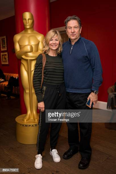 Glynis Barber and Michael Brandon attend the Academy of Motion Picture Arts Sciences official Academy screening of Star Wars The Last Jedi at Ham...